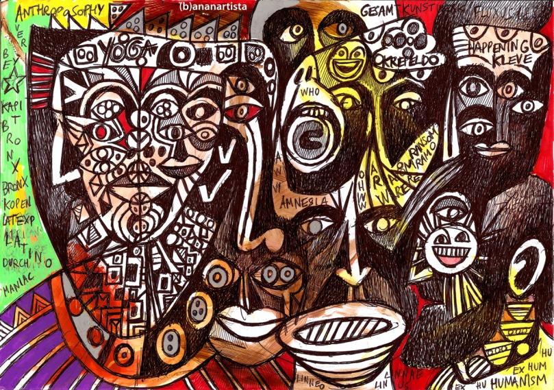gesamtkunstwerk: artwork by (b)ananartista sbuff