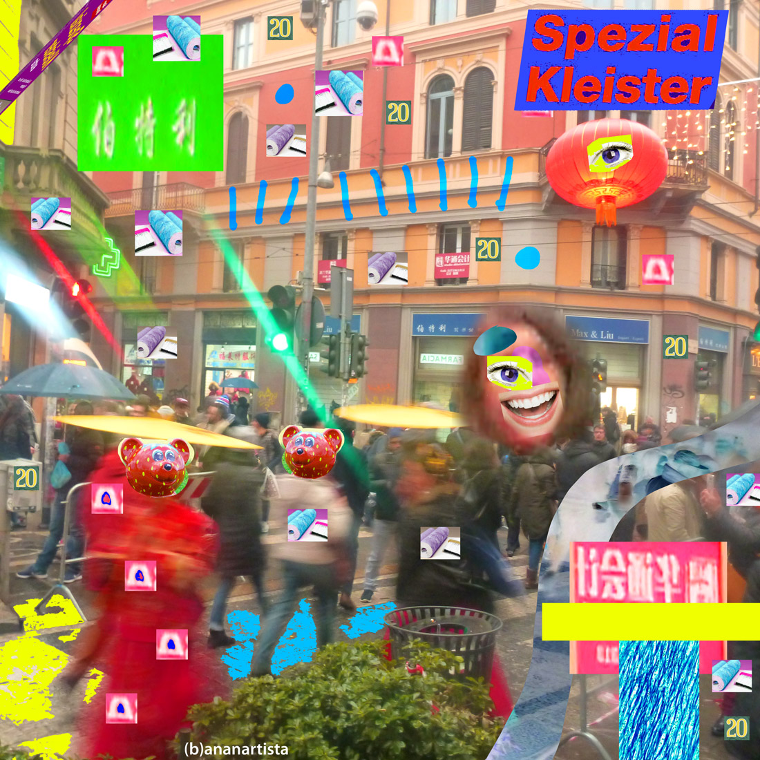 spezial kleister: collage photography by (b)ananartista sbuff
