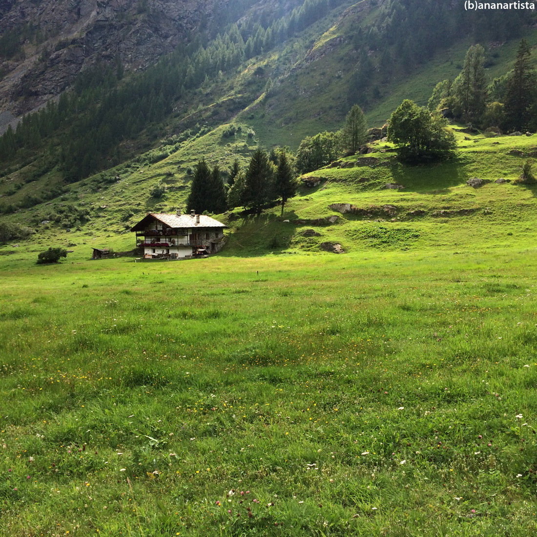 walser house in the alps: photography by (b)ananartista sbuff