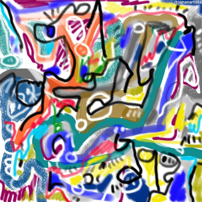 conatus dragone: digital painting by (b)ananartista