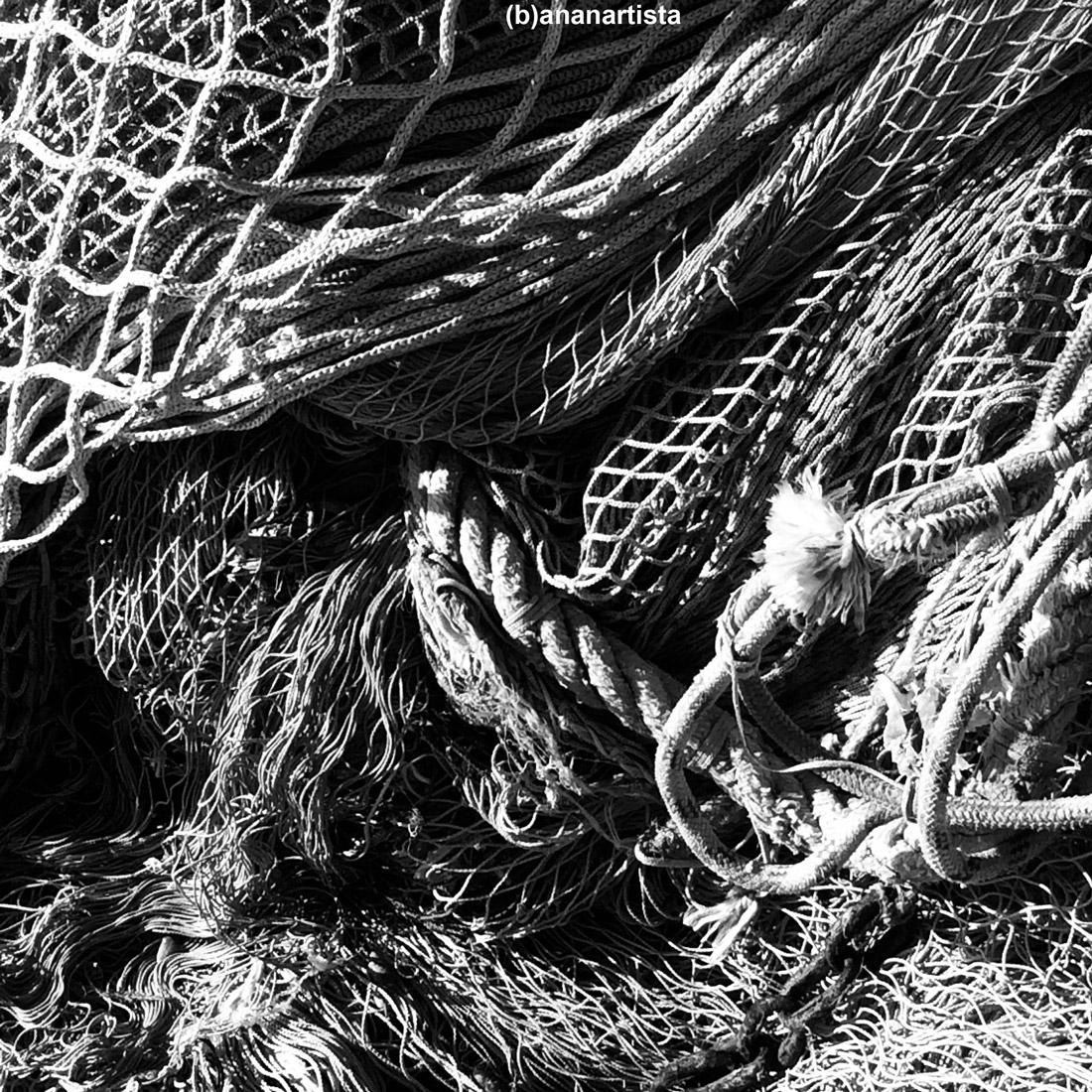 fishing net: photography by (b)ananartista sbuff