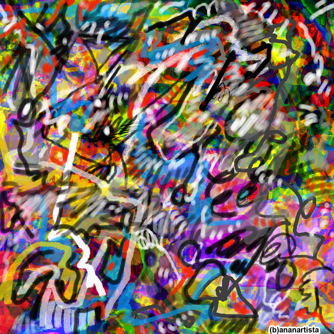 shamanic sexual healing: digital painting by (b)ananartista sbuff