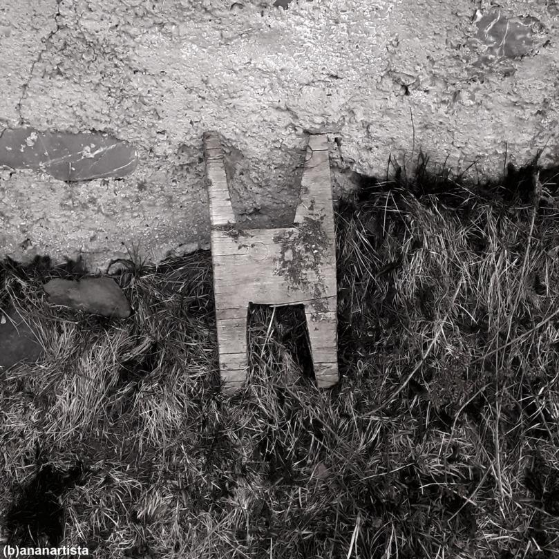 foto muta: fotografia in bianco e nero di (b)ananartista sbuff