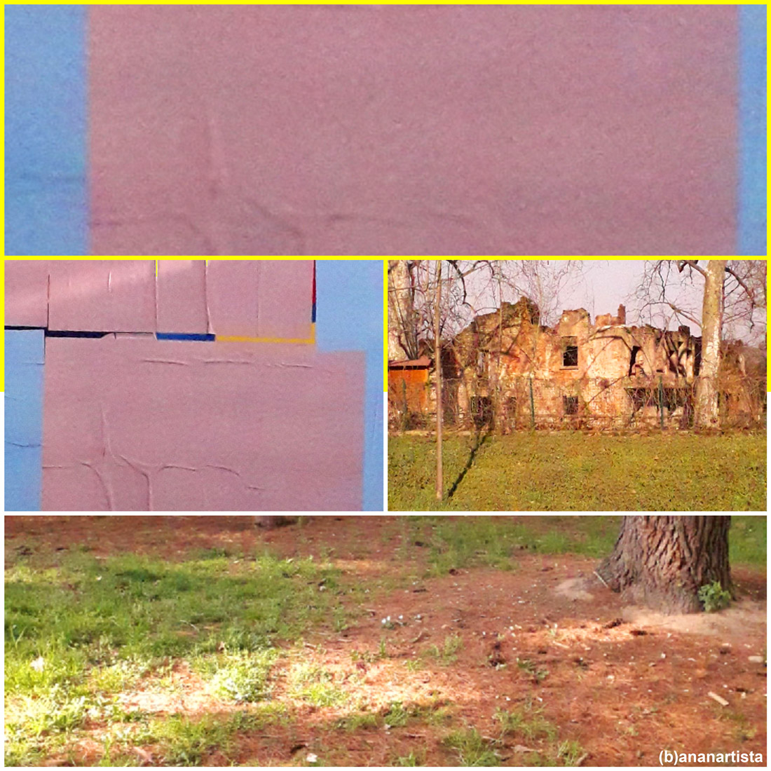 la ricchezza del silenzio sulle rovine: fotografia di (b)ananartista sbuff