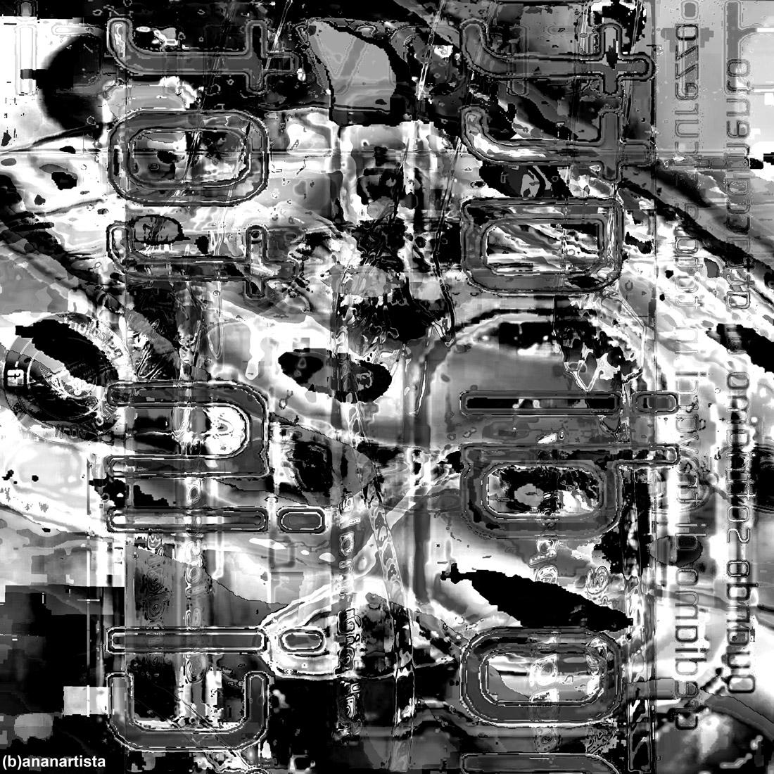 attaccamento: opera digitale di (b)ananartista sbuff