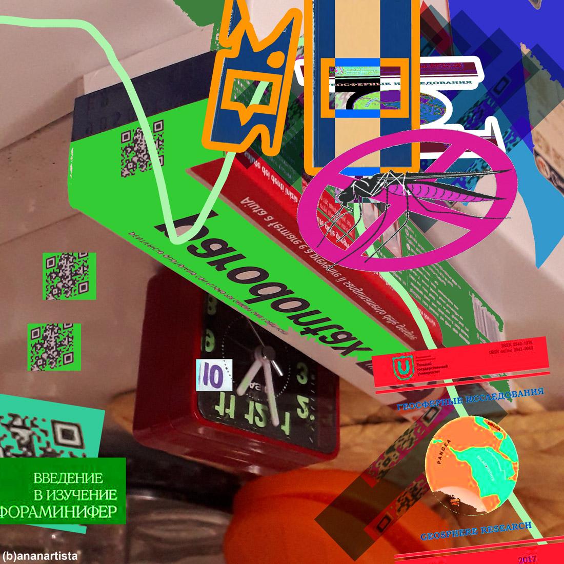 horrible art: digital collage by (b)ananartista sbuff