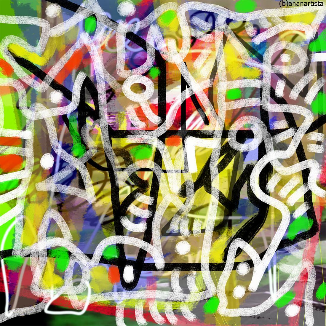 50 giga: digital painting by (b)ananartista sbuff
