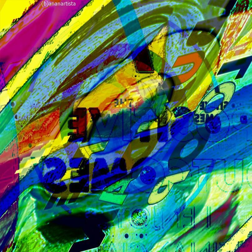 abundance loop - digital collage by (b)ananartista sbuff