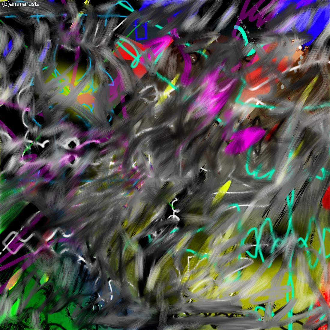 analemma - arte digitale di (b)ananartista sbuff