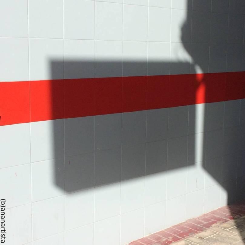 cartello ombra - fotografia di (b)ananartista sbuff