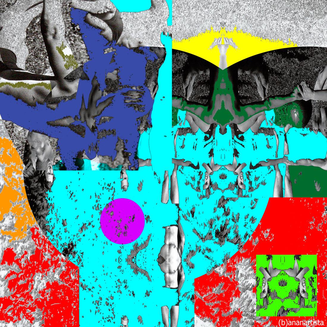Esercizi sul Monte Verità - collage art by (b)ananartista sbuff
