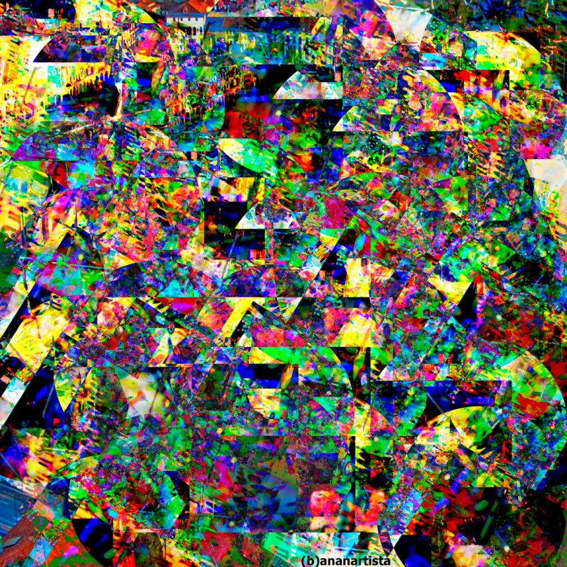 my abstract padova glitch cartolina by (b)ananartista sbuff
