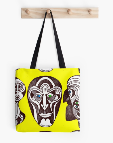 redbubble shop tote bag borsa (b)ananartista sbuff