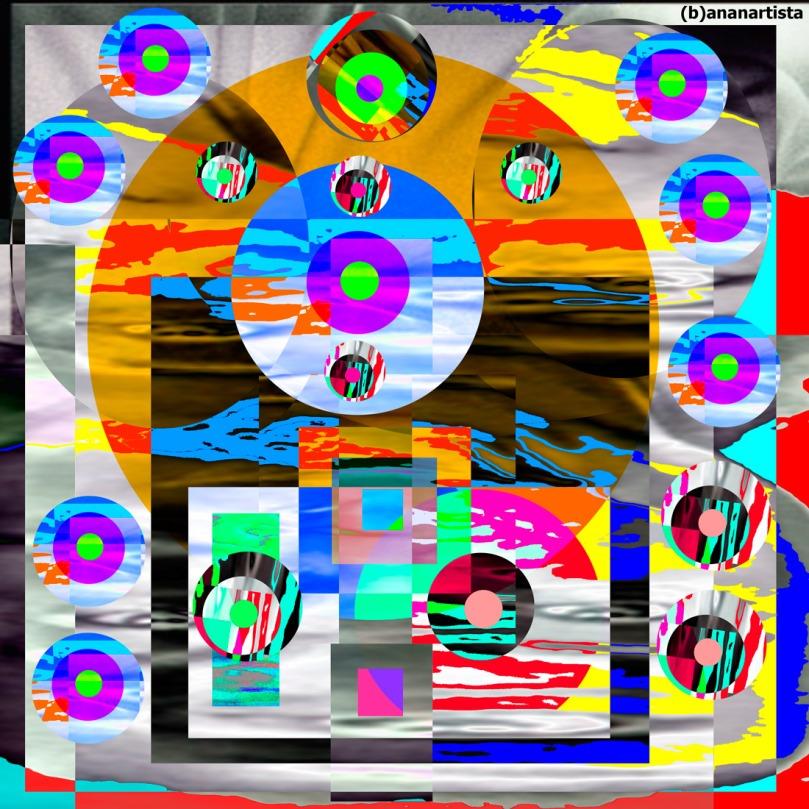 Paramahansa Yogananda : abstract art portrait by (b)ananartista sbuff