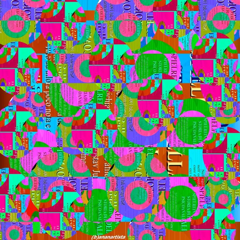 caso sabina spielrein: abstract art collage by (b)ananartista sbuff