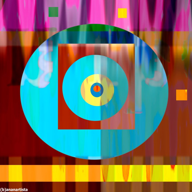 Transcendentalism : abstract art by (b)ananartista sbuff