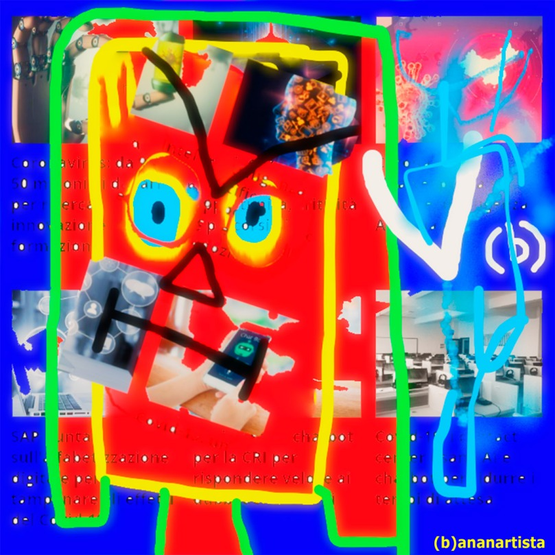 big data : digital art by (b)ananartista sbuff