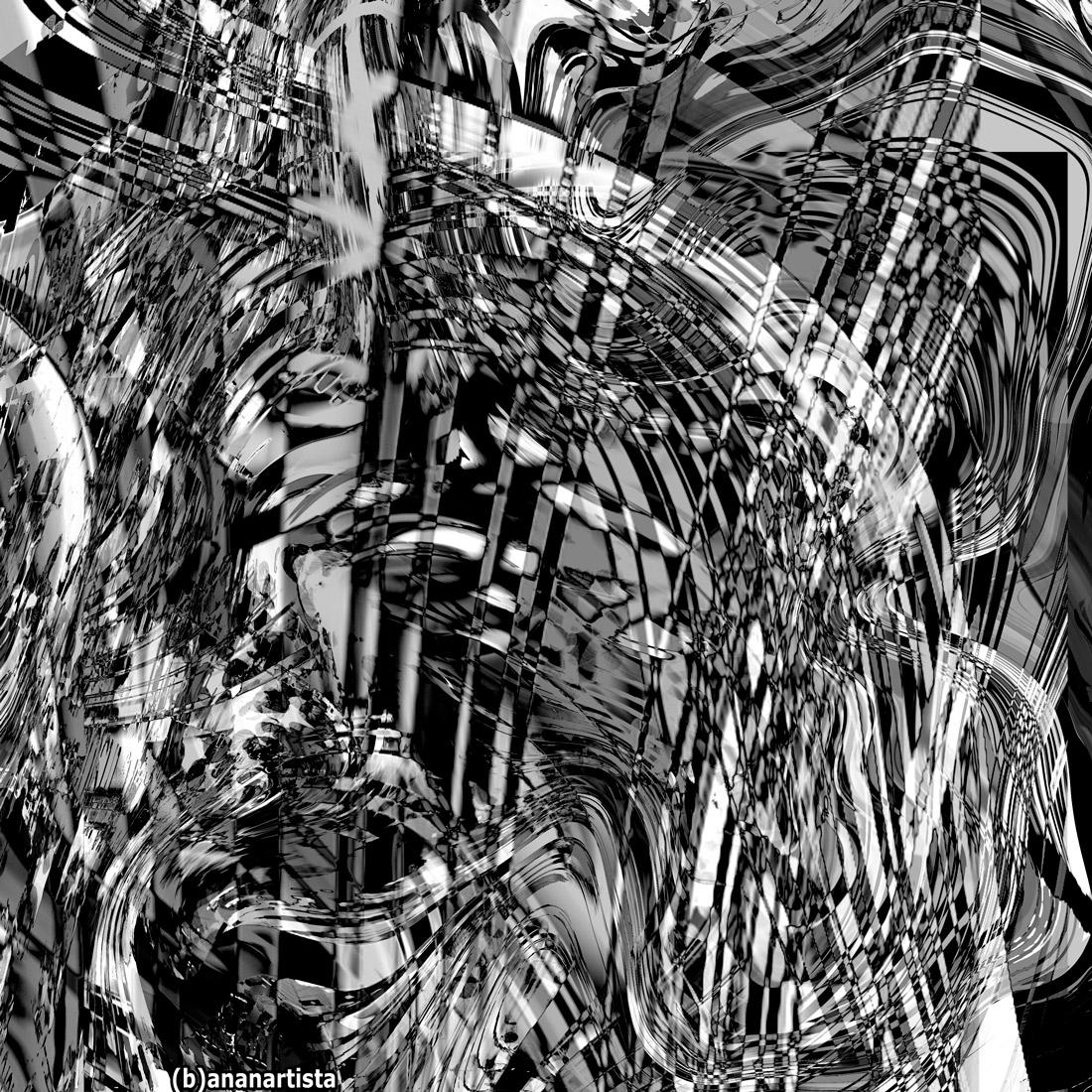 rumi abstract digital art by (b)ananartista sbuff