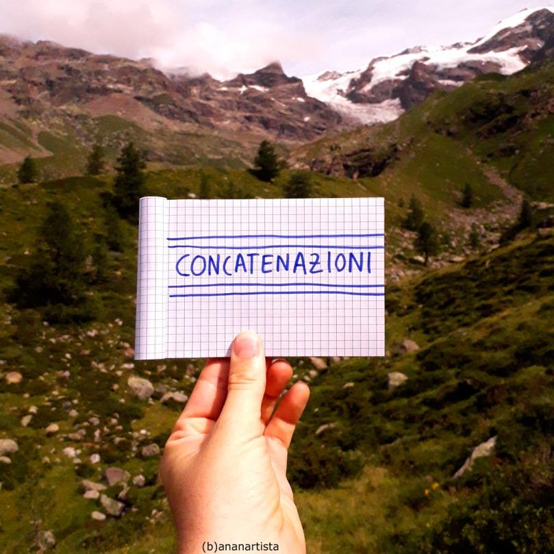 concatenazioni : poesia e paesaggio di (b)ananartista sbuff