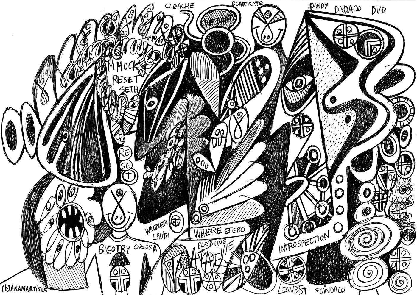 dandy efebo introspection - artwork by (b)ananartista sbuff