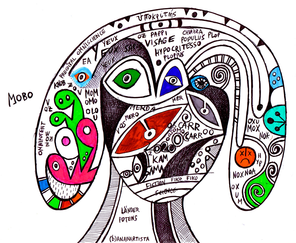 pappi visage the hypocrite visionary artwork by (b)ananartista sbuff