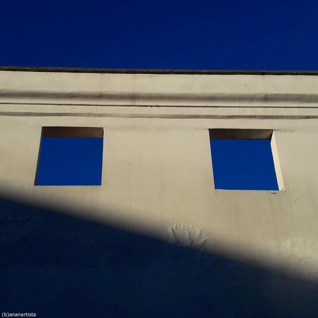 blue windows - photography by (b)ananartista sbuff