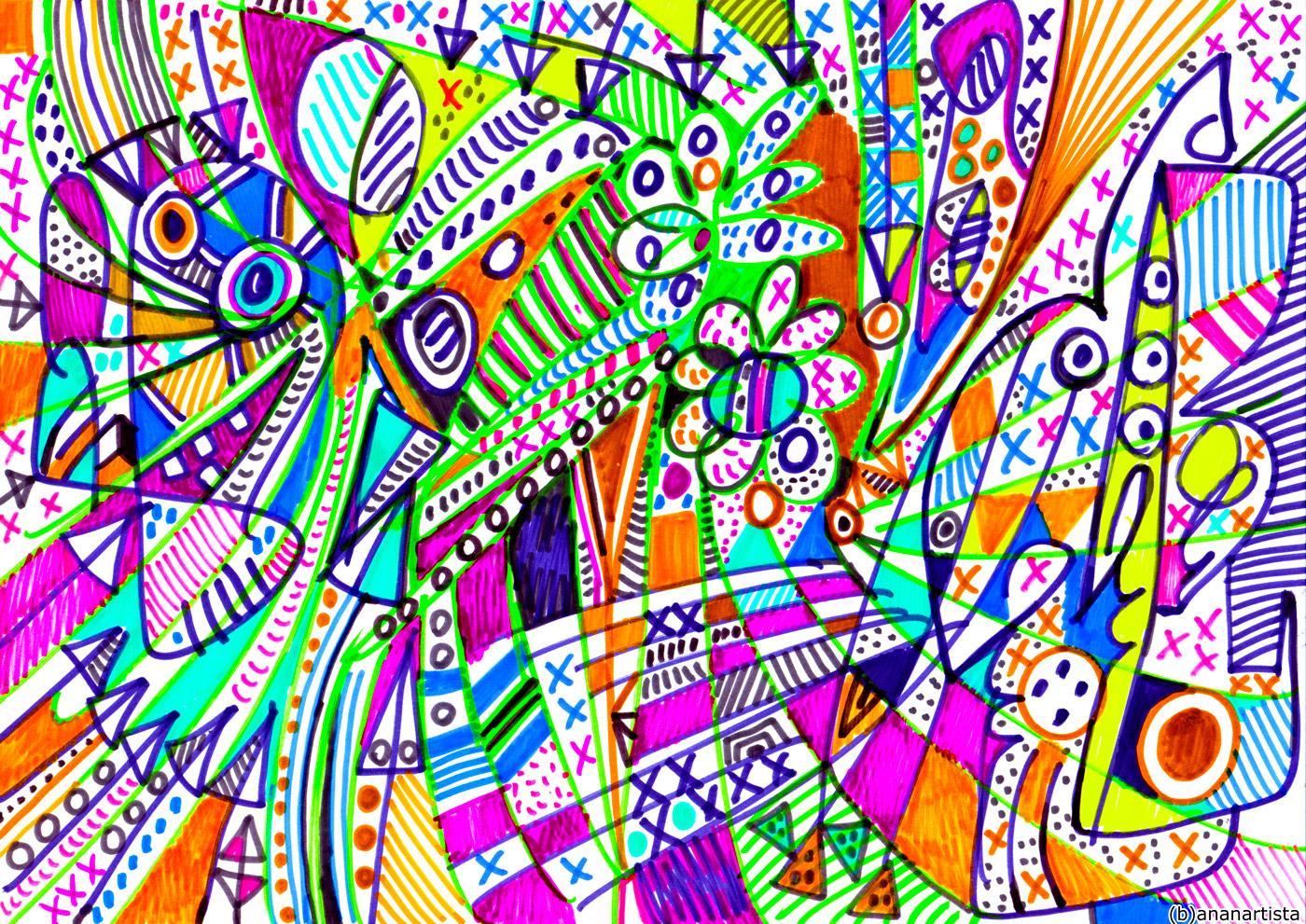 ubiquitous színezett heresy : contemporary art by (b)ananartista sbuff