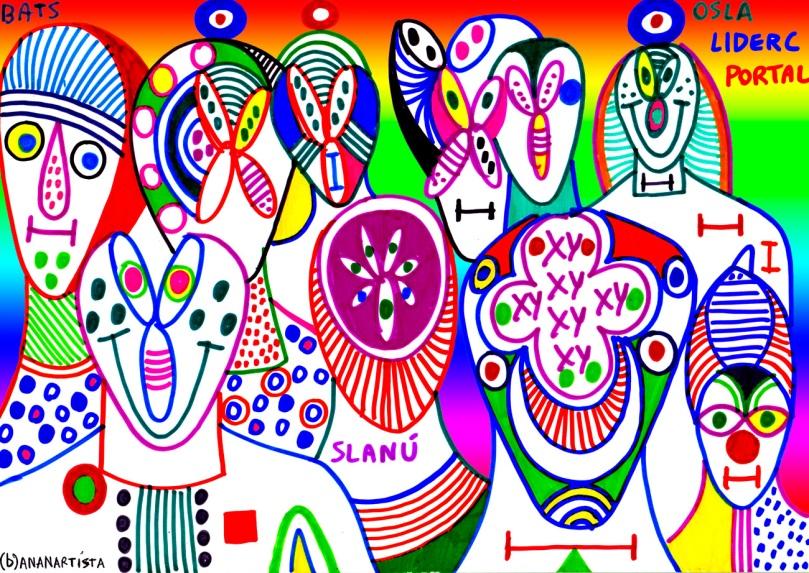 Bats osla liderc portal chromosomes dna artwork by (b)ananartista sbuff
