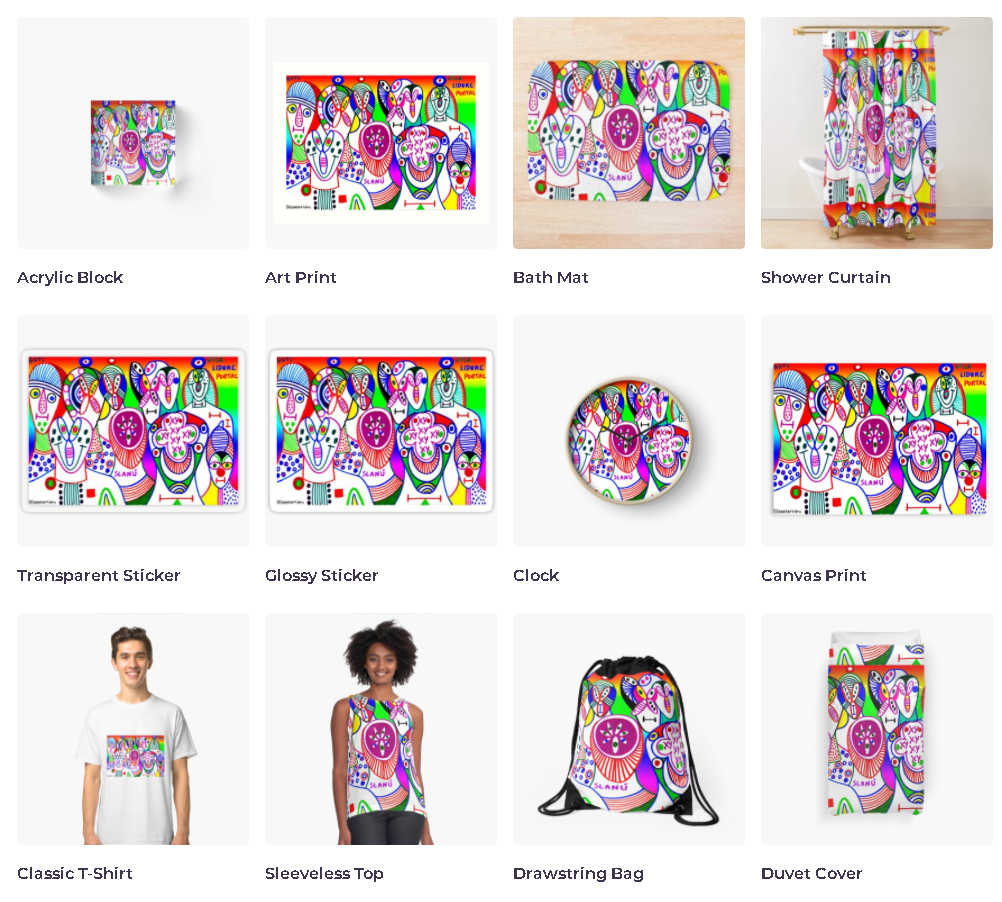 redbubble (b)ananartista bats osla liderc portal chromosomes dna acrylic print mat curtain clock sticker t-shirt bag shop