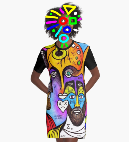 redbubble (b)ananartista julian roman emperor giuliano apostata illustration graphic t shirt dress shop