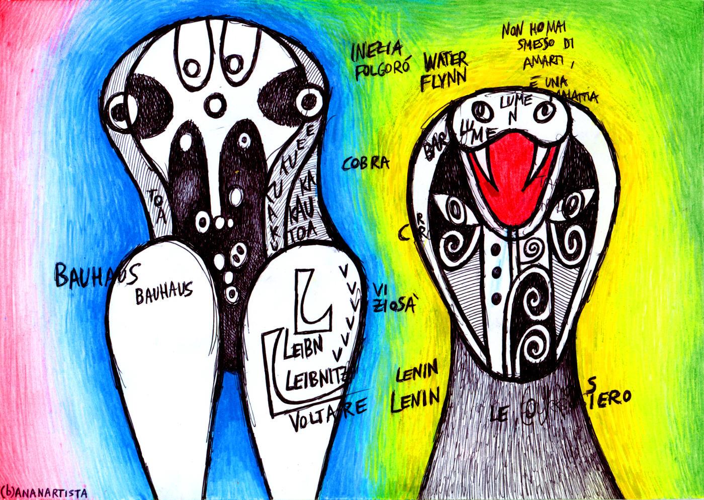 inezia folgorò - artwork di (b)ananartista sbuff