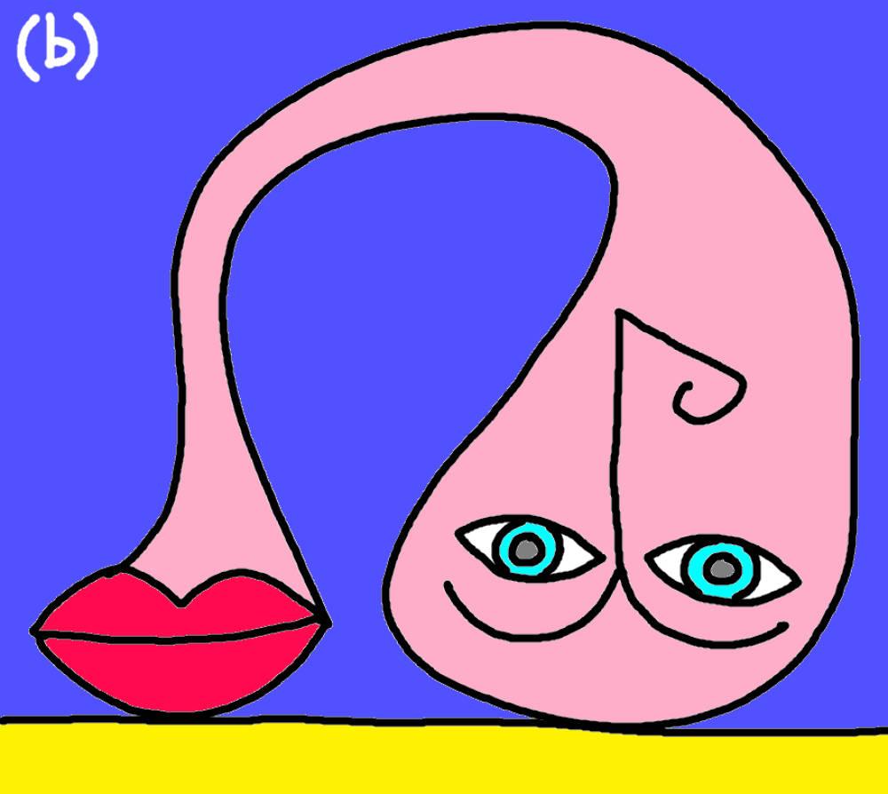 bionda con gli occhi azzurri by (b)ananartista sbuff