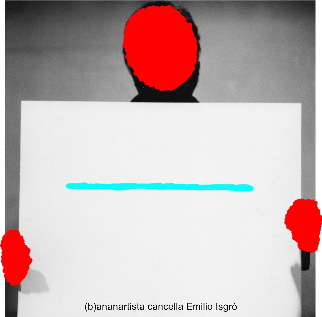 (b)ananartista cancella Emilio Isgrò