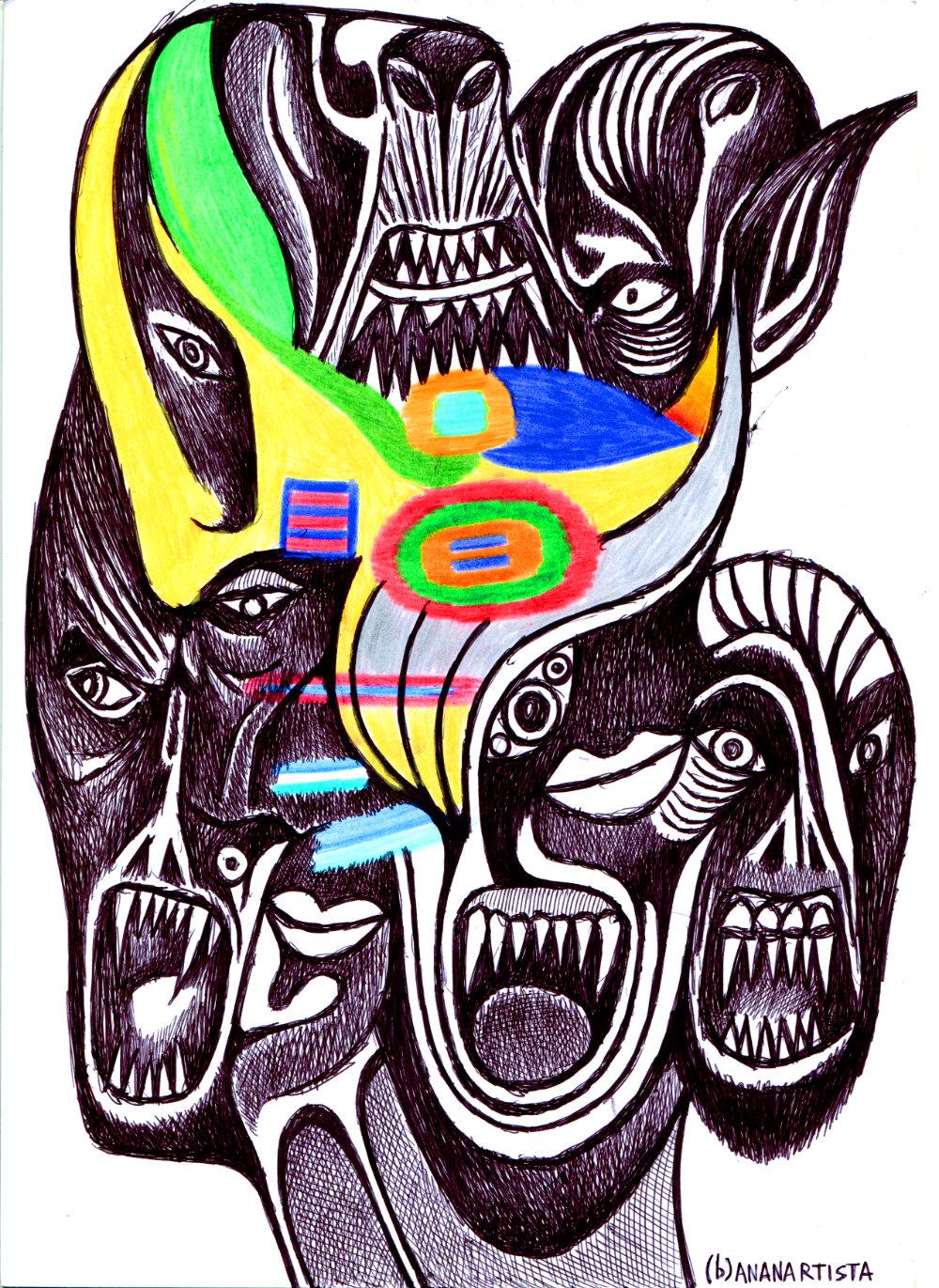 invasion of trolls 02 by (b)ananartista sbuff