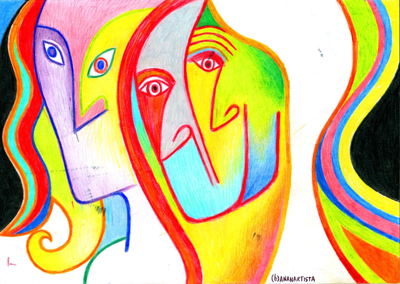 le tre moire del fato arte di (b)ananartista sbuff