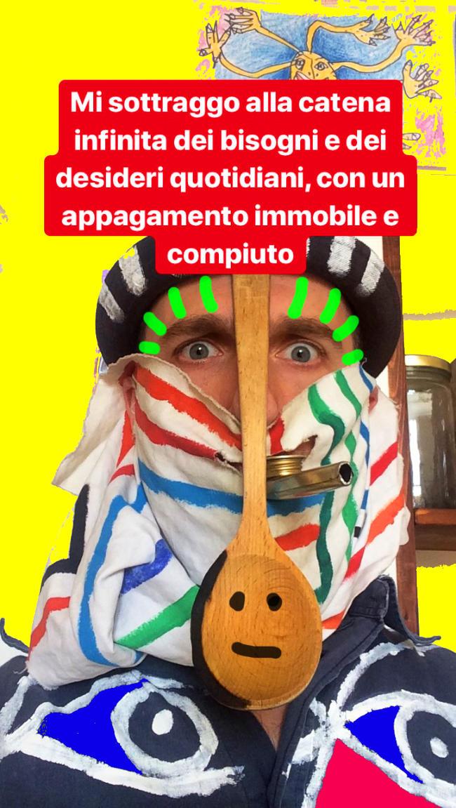 selfie con cucchiaione by (b)ananartista sbuff