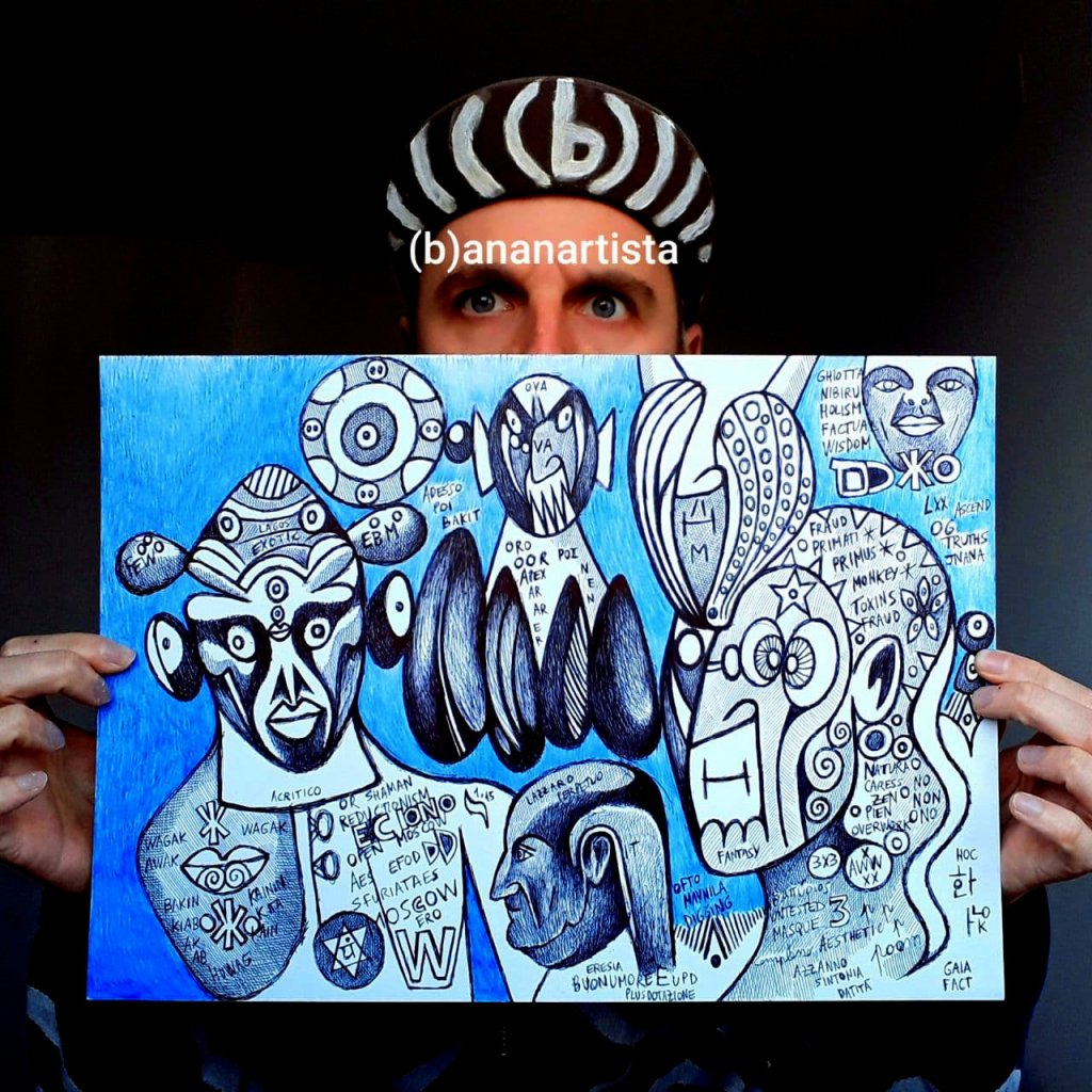 shaman reductionism by (b)ananartista sbuff