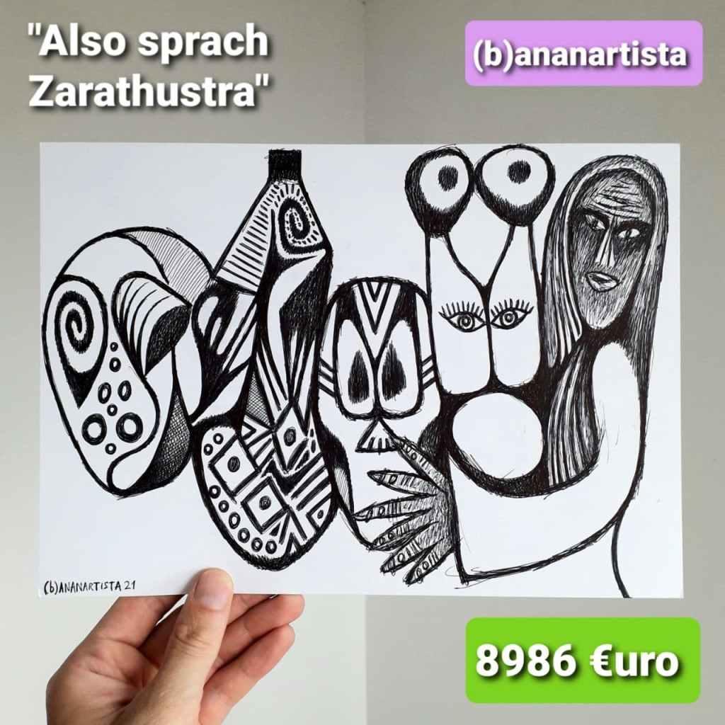 also sprach zarathustra - (b)ananartista sbuff