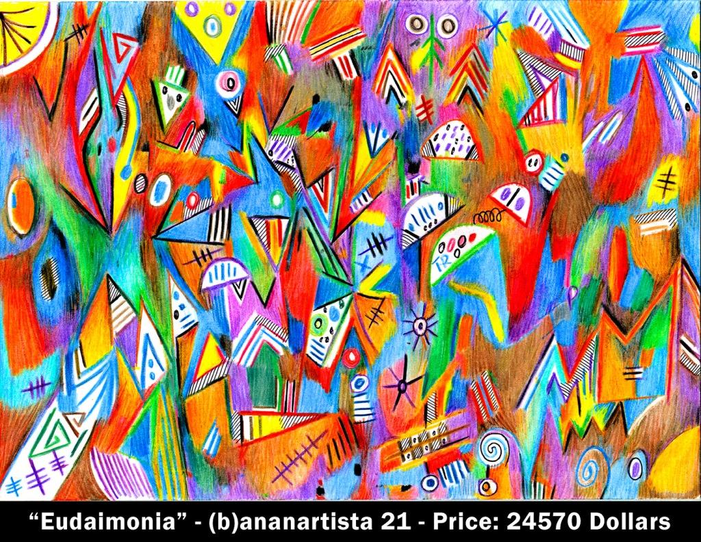 eudaimonia painting by (b)ananartista sbuff